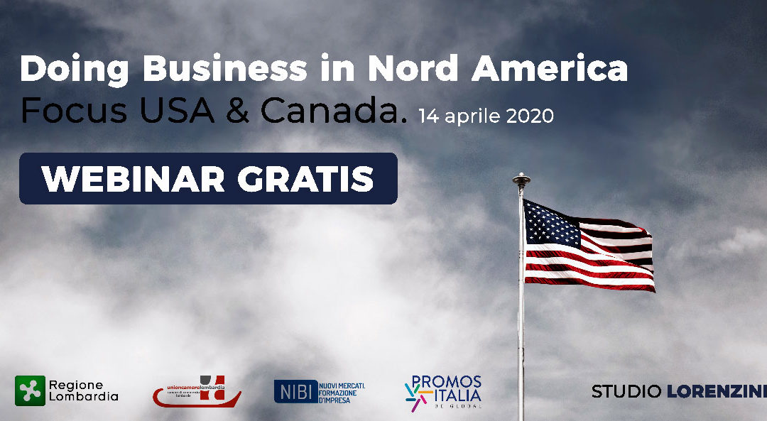 Doing Business in Nord America: focus USA & Canada